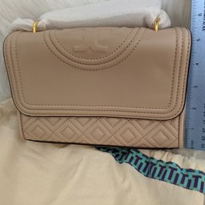 Beige/tan purse - Tory Burch